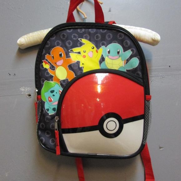 Small Pokemon Backpack. M 5b8cace81b32946937224877 7c4c3880ecd52